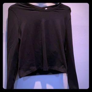 Lululemon black sweatshirt